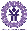 Hospice Association of Ontario Level 1 Symbol
