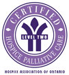 Hospice Association of Ontario Level 2 Symbol